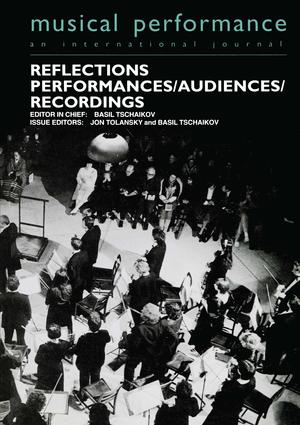 Reflections: Performers/Audiences/Recordings (e-Book) book cover