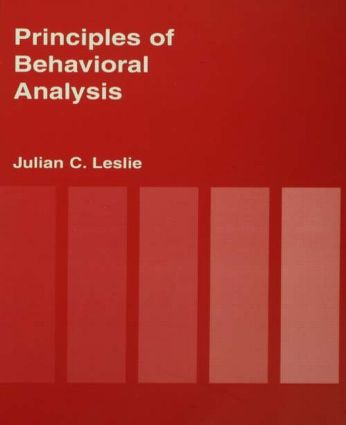 Principles of behavioural analysis: 1st Edition (Paperback) book cover