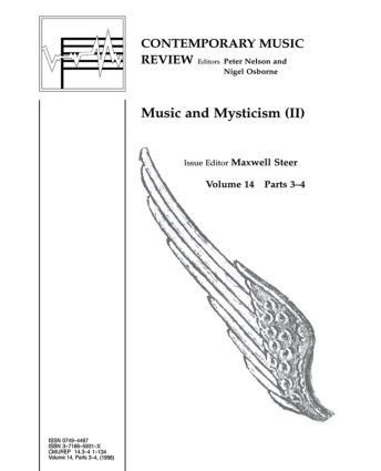 Music and Mysticism: Parts 3 and 4 (Paperback) book cover