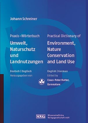 Practical Dictionary of Environment, Nature Conservation and Land Use (Hardback) book cover