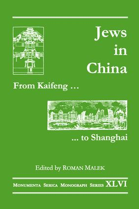From Kaifeng to Shanghai: Jews in China book cover