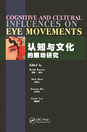 Cognitive and Cultural Influences on Eye Movements (Hardback) book cover
