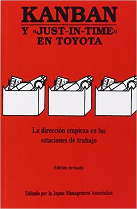Kanban: Y JUST-IN-TIME EN TOYOTA, 1st Edition (Paperback) book cover