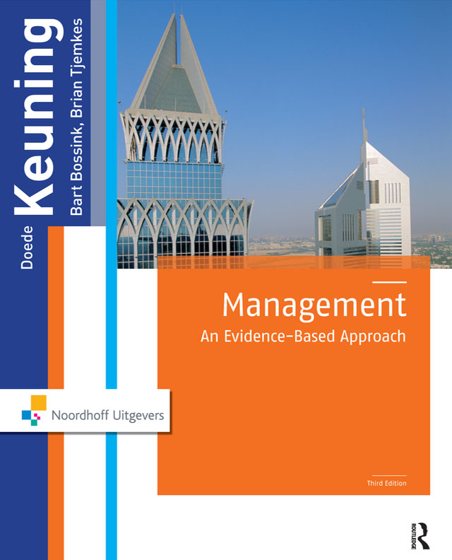 Management: An Evidence-Based Approach, 3rd Edition (Paperback) book cover