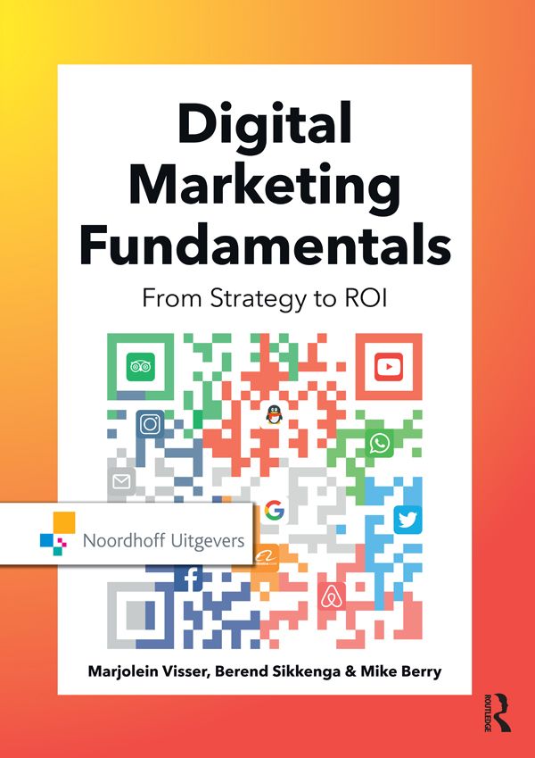 Digital Marketing Fundamentals: From Strategy to ROI, 1st Edition (e-Book) book cover