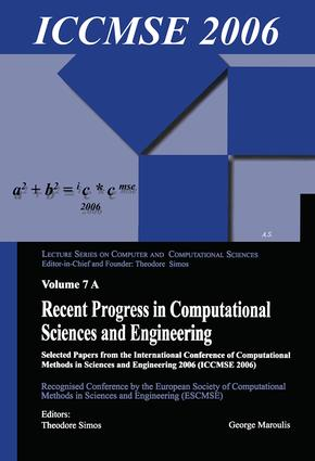 Recent Progress in Computational Sciences and Engineering (2 vols): 1st Edition (Paperback) book cover