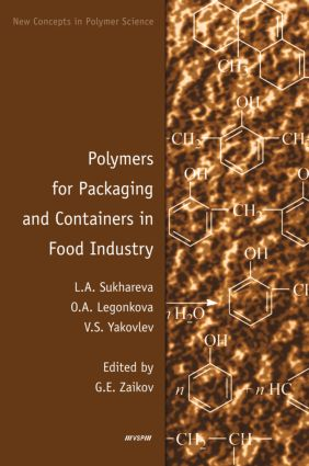 Polymers for Packaging and Containers in Food Industry: 1st Edition (Hardback) book cover