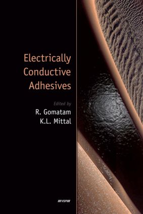 Electrically Conductive Adhesives: 1st Edition (Hardback) book cover
