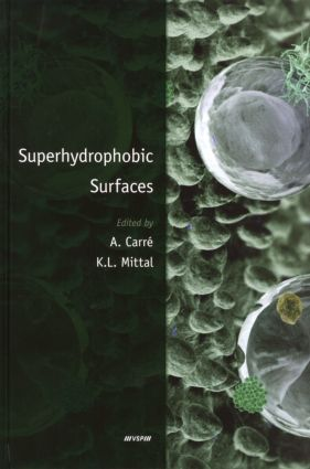 Superhydrophobic Surfaces: 1st Edition (Hardback) book cover