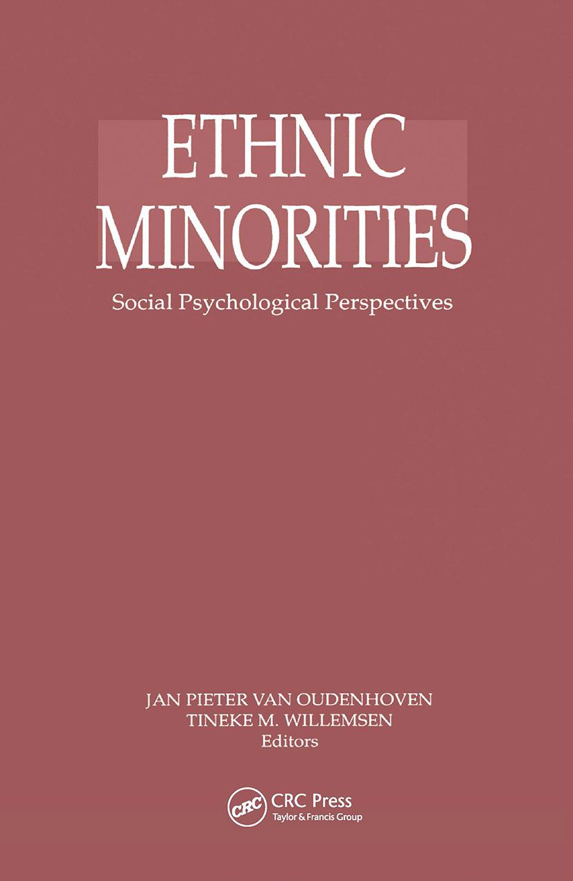 Ethnic Minorities: 1st Edition (Hardback) book cover