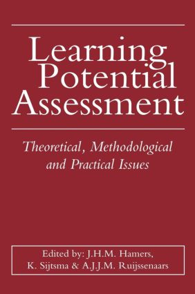 Learning Potential Assessment: 1st Edition (Hardback) book cover