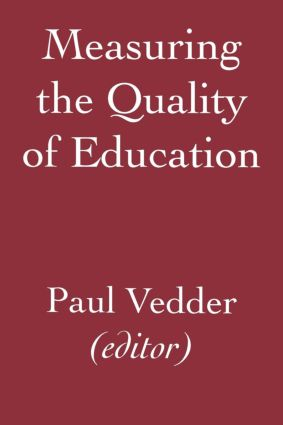 Measuring the Quality of Education: 1st Edition (Paperback) book cover