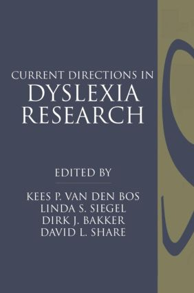 Current Directions in Dyslexia Research (Hardback) book cover