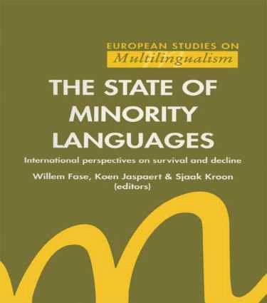 The State of Minority Languages: 1st Edition (e-Book) book cover