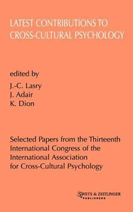 Key Issues in Cross-cultural Psychology: 1st Edition (Hardback) book cover