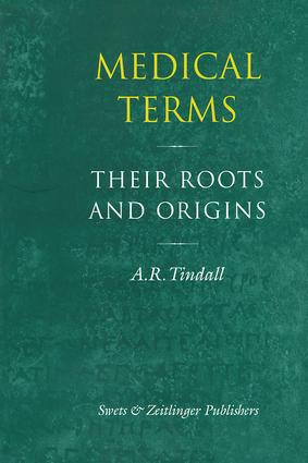 Medical Terms: 1st Edition (Hardback) book cover