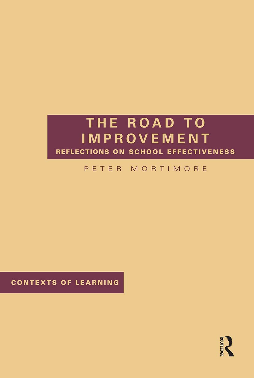 The Road to Improvement: 1st Edition (Paperback) book cover
