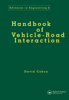 Handbook of Vehicle-Road Interaction book cover