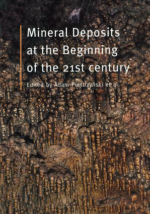 Mineral Deposits at the Beginning of the 21st Century: 1st Edition (Hardback) book cover