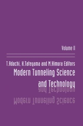 Modern Tunneling Science And T: 1st Edition (Hardback) book cover
