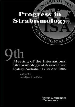 International Strabismological Association ISA 2002: 1st Edition (Hardback) book cover
