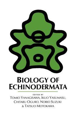 Biology of Echinodermata: 1st Edition (Hardback) book cover