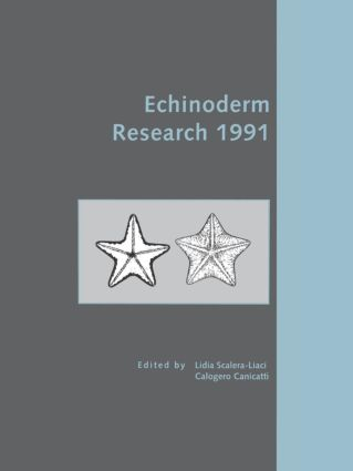 Echinoderm Research 1991: 1st Edition (Hardback) book cover