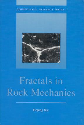 Fractals in Rock Mechanics: 1st Edition (Hardback) book cover