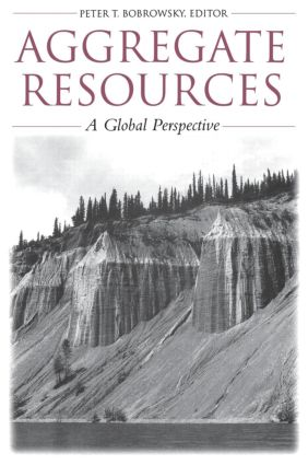 Aggregate Resources: A Global Perspective, 1st Edition (Hardback) book cover