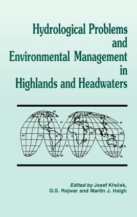 Hydrological Problems and Environmental Management in Highlands and Headwaters: 1st Edition (Hardback) book cover