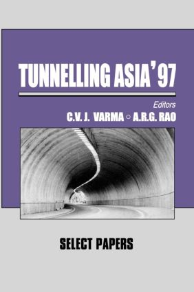 Tunnelling Asia '97: 1st Edition (Hardback) book cover