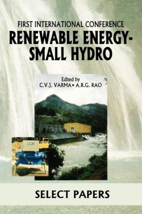 Renewable Energy - Small Hydro: 1st Edition (Hardback) book cover