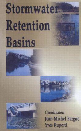Stormwater Retention Basins: 1st Edition (Hardback) book cover