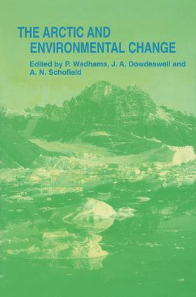 Arctic and Environmental Change: 1st Edition (Hardback) book cover
