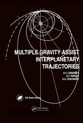 Multiple Gravity Assist Interplanetary Trajectories: 1st Edition (Hardback) book cover