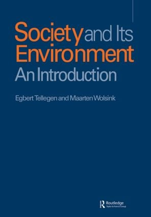 Soc & It's Envir: 1st Edition (Paperback) book cover