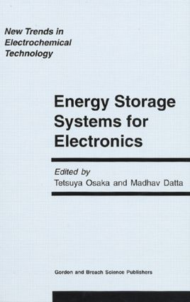 Energy Storage Systems in Electronics: 1st Edition (Hardback) book cover