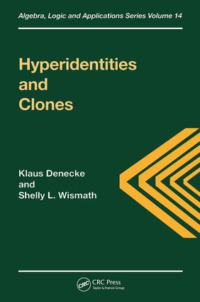 Hyperidentities and Clones: 1st Edition (Hardback) book cover