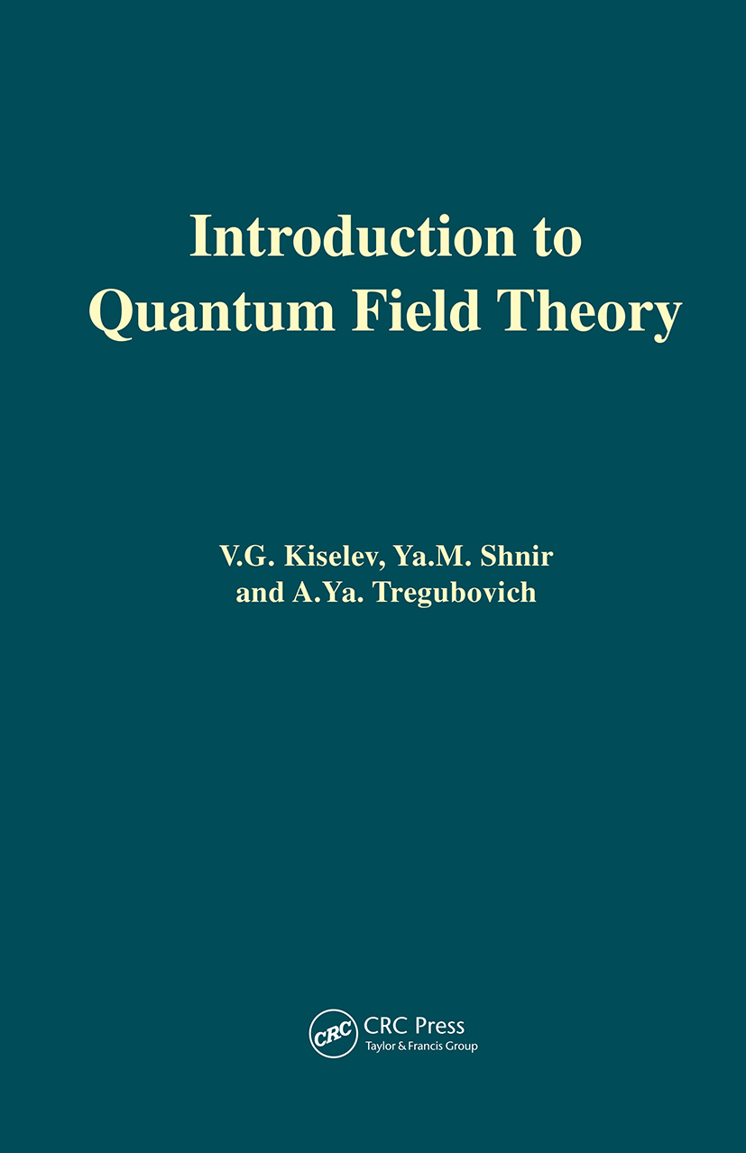 Introduction to Quantum Field Theory: 1st Edition (Hardback) book cover
