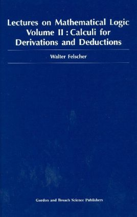 Lectures on Mathematical Logic, Volume II: 1st Edition (Hardback) book cover