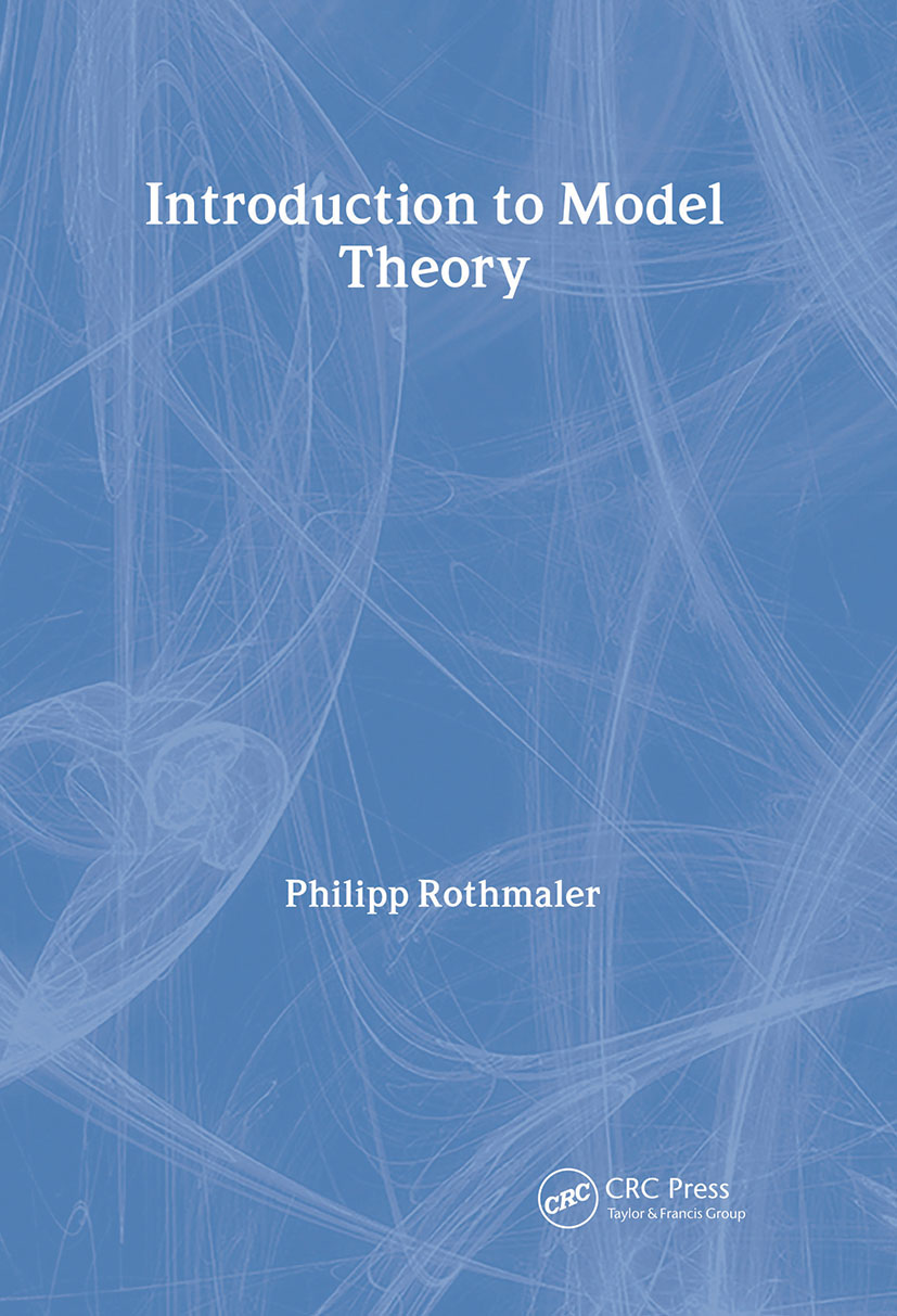 Introduction to Model Theory: 1st Edition (Paperback) book cover