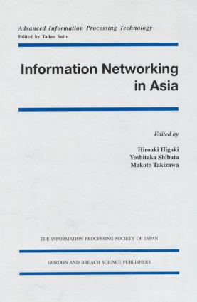 Information Networking in Asia: 1st Edition (Hardback) book cover