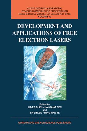 Development and Applications of Free Electron Lasers: 1st Edition (Hardback) book cover