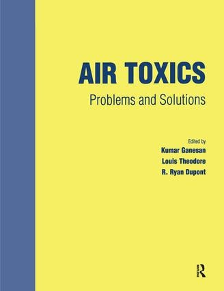 Air Toxics: Problems and Solutions, 1st Edition (Paperback) book cover
