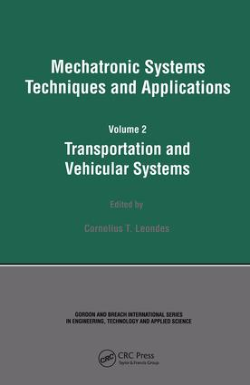 Mechatronic Systems Techniques and Applications: 1st Edition (Hardback) book cover