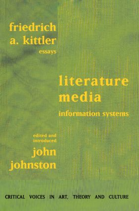 Literature, Media, Information Systems: 1st Edition (Paperback) book cover