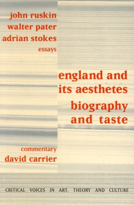 England and its Aesthetes: Biography and Taste, 1st Edition (Paperback) book cover