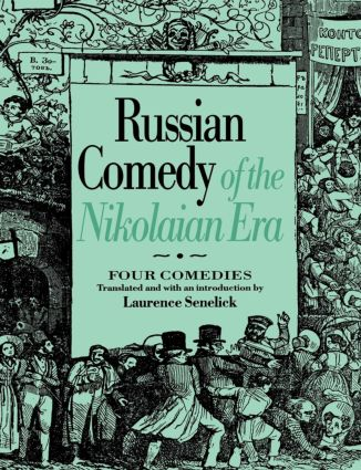 Russian Comedy of the Nikolaian Rea (Paperback) book cover