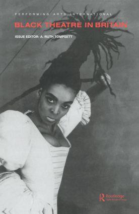 Black Theatre in Britain book cover