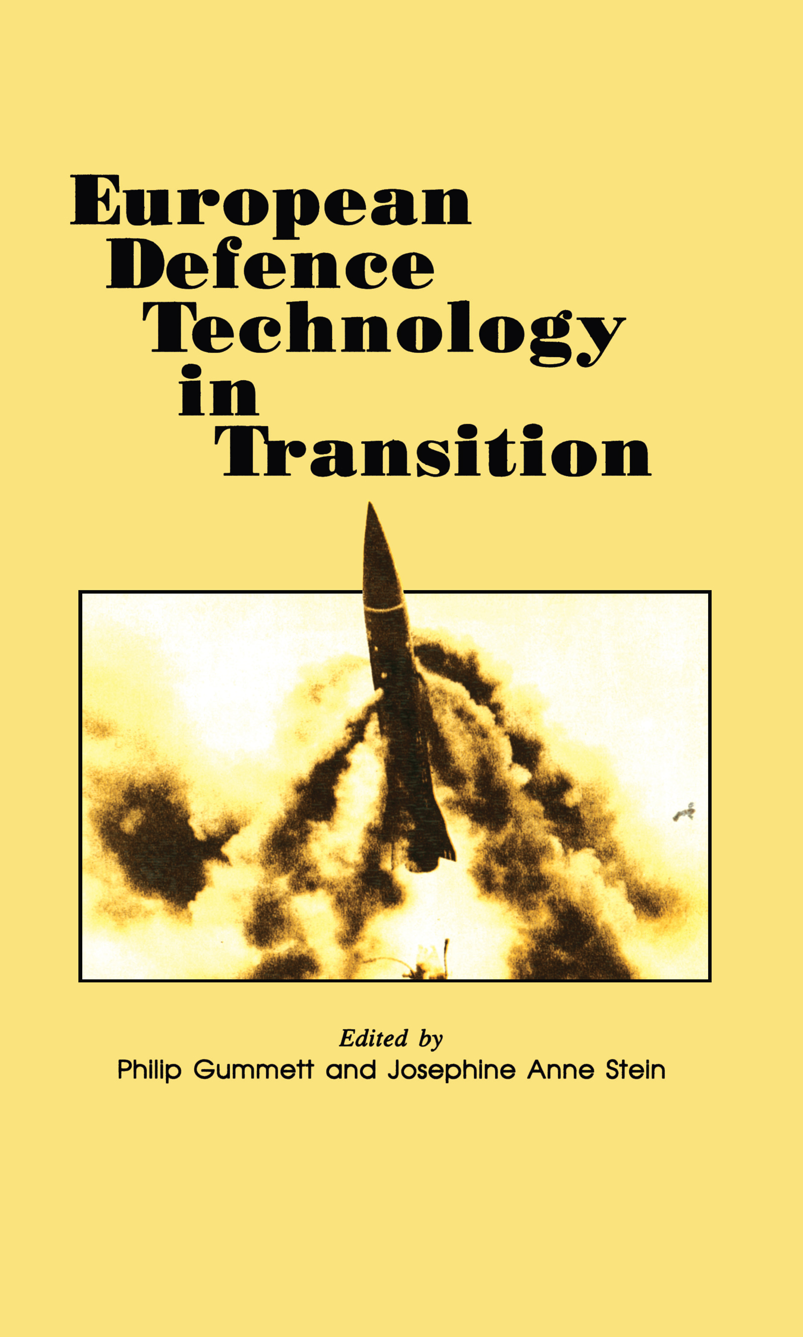 European Defence Technology in Transition: 1st Edition (Hardback) book cover
